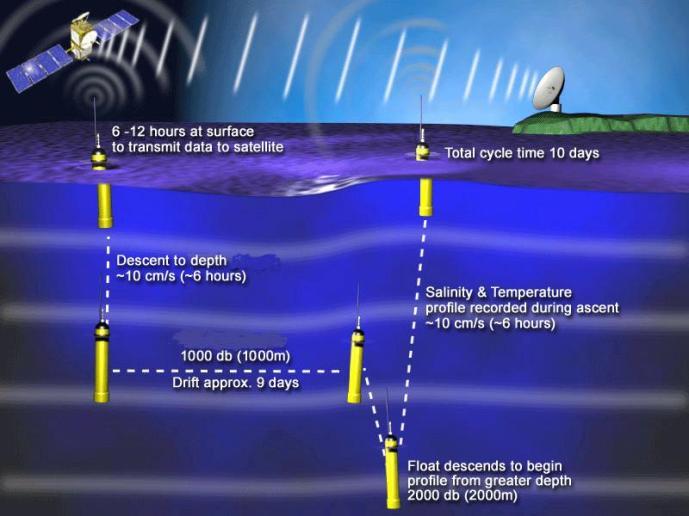 Argo Buoy Cycle