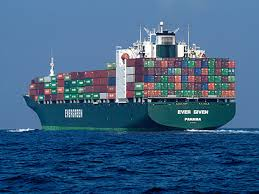 Boat with Containers