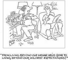 Cartoon Standrad of Living