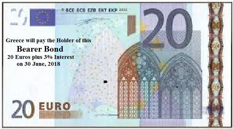 20 Euro Bearer Bond